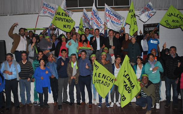 Partido Radical presentó a sus candidatos al parlamento ante más de 200 adherentes