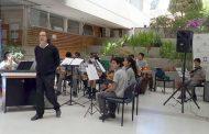 VIDA SOCIAL: Tribunal Oral en lo Penal de Ovalle se llenó de música en la mañana del miércoles