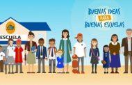 Invitan a establecimientos educativos a participar en concurso de buenas prácticas