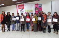 Mujeres del Limarí se certificaron en talleres que les brindarán mayor autonomía