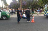 ULTIMA HORA: Mujer es atropellada por colectivo frente a la Plaza de Armas