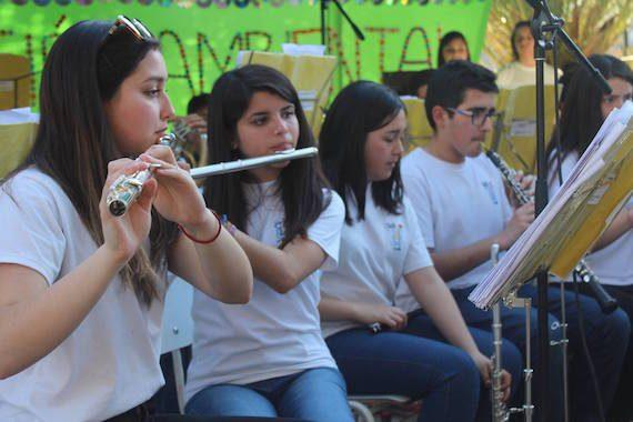 Comunidad de Chañaral Alto disfrutó de concierto de la Banda Sinfónica Juvenil