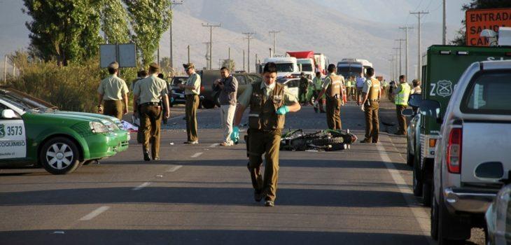 Invitan a conmemorar a motoristas de carabineros que fallecieron en servicio hace un año