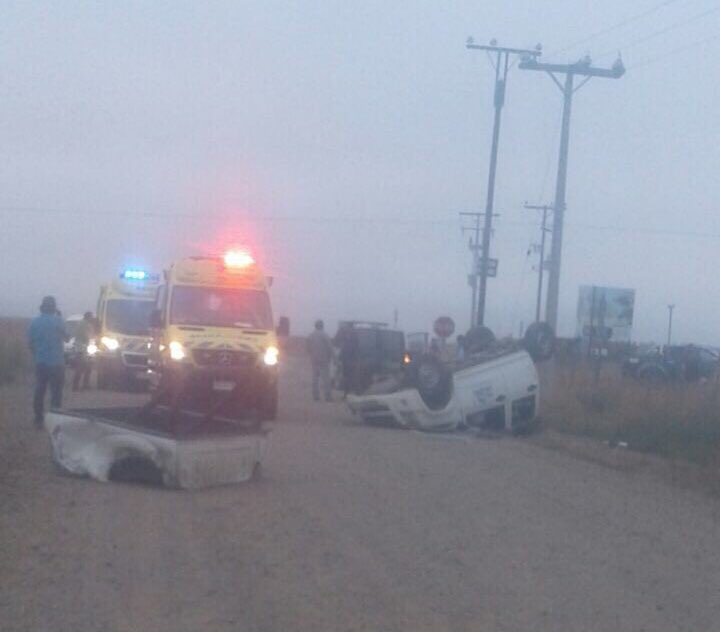 Colisión deja 6 heridos en carretera que une Ovalle y Socos