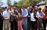 Inauguran pavimentación de camino entre Ovalle y La Chimba