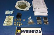 Detienen a tres personas por presunto microtráfico de marihuana