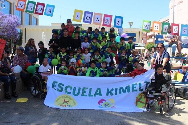 Niños y jóvenes conmemoran Día Internacional de las Personas con Discapacidad en Ovalle