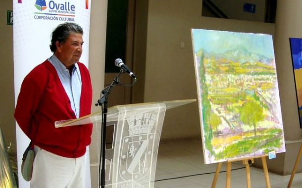 Oscar Gatica es la gran sorpresa en Concurso de Pintura y se lleva premio Guillermo Pizarro