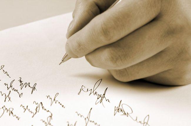 ¿Sabía Ud. que su firma puede denunciar su personalidad casi por completo?