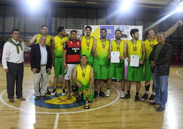 Club Deportivo Villalón campeón del básquet ovallino