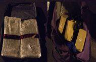 Traficantes fueron detenidos en control carretero con 36 kilos de droga