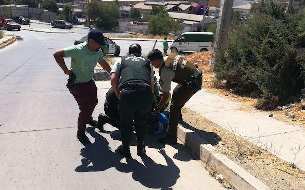 (Actualizada) En espectacular persecución recapturan a imputado que huyó desde el Juzgado de Garantía