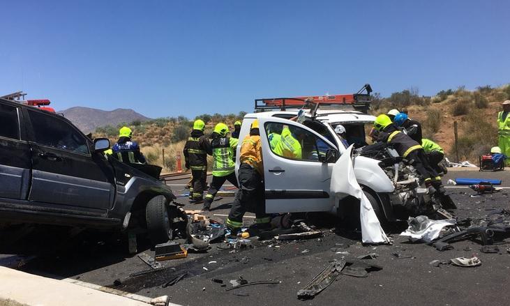 Un fallecido deja accidente en ruta D-43