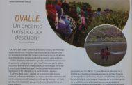 Destacan a Ovalle en revista internacional