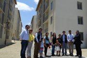 23 familias ovallinas de menores ingresos reciben departamentos nuevos
