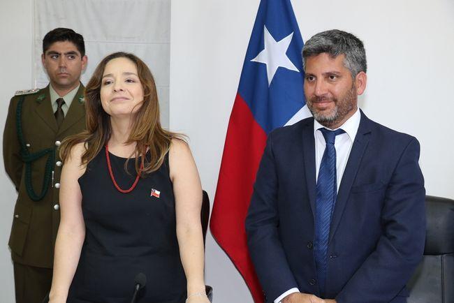 """Intendenta Lucía Pinto: """"Vamos a pensar en el futuro, con unidad y diálogo""""."""