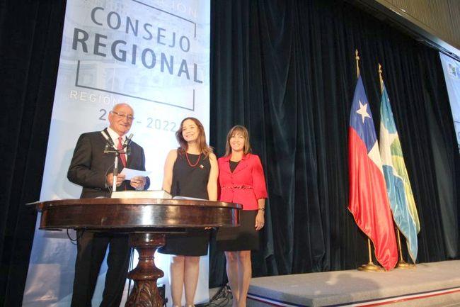 Ovallino Hanna Jarufe presidió constitución del nuevo Consejo Regional