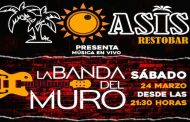 Panoramas y Eventos: La Banda del Muro trae el Rock Latino a la noche sabatina de Ovalle