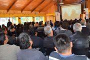 Con seminario buscan fomentar la asociatividad entre los agricultores de Monte Patria