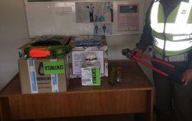 De siete detenidos por robo a camión queda uno en prisión