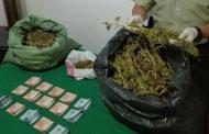 Decomisan droga avaluada en $7.500.000 en Río Hurtado