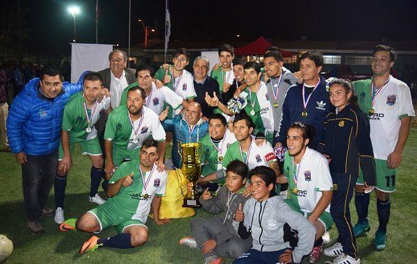 Unión Tangue y Perla Verde campeones de Copa Aniversario de Ovalle