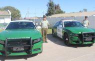 Nuevos vehículos policiales llegan a la provincia de Limarí