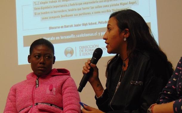 Estudiantes ovallinos reflexionan sobre la lucha contra el racismo