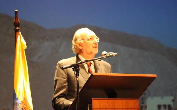 Ministro de Minería y temas medioambientales:
