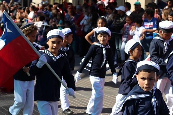 Fotos: Desfile del 21 de mayo en Ovalle
