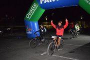Más de 300 participantes tuvo la primera cicletada nocturna del año en Ovalle