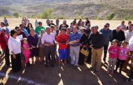 Inauguran cancha del Club Deportivo Unión Católica en Valle Hermoso