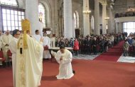 Joven bombero punitaquino es ordenado sacerdote