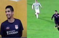 Nicolás Gómez: el futbolista de Tomas Greig que le gana a la vida