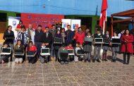 Entregan 340 computadores con internet a estudiantes deMonte Patria