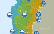 Sistema frontal traería heladas y hasta 45 mm de lluvia al Limarí