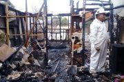 Incendio de madrugada afecta a vivienda en población Limarí